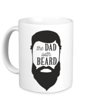 Кружка The Dad with beard