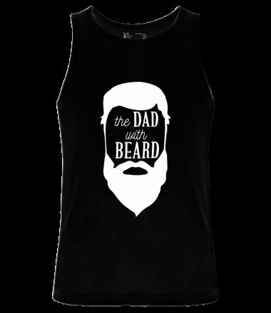 Мужская майка The Dad with beard