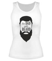 Женская майка борцовка The Dad with beard