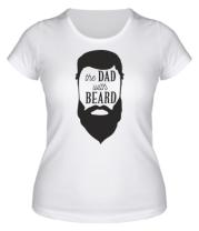 Женская футболка  The Dad with beard