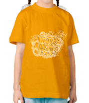 Детская футболка  Wubba Lubba dub dub