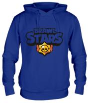 Толстовка худи  Brawl Stars multi-colored