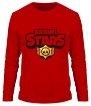 Мужская футболка с длинным рукавом  Brawl Stars multi-colored