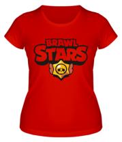 Женская футболка   Brawl Stars multi-colored