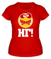 Женская футболка  НГ (Новый Год)