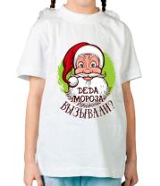 Детская футболка  Вызывали деда мороза?