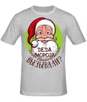 Мужская футболка Вызывали деда мороза?