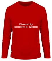 Мужская футболка с длинным рукавом Directed by Robert B. Weide