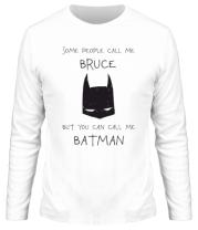 Мужская футболка с длинным рукавом Batman