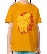 Детская футболка  Iron Man
