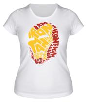 Женская футболка Iron Man