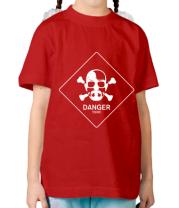Детская футболка DANGER
