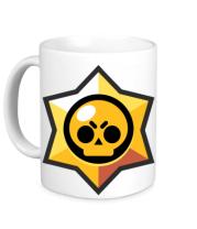 Кружка Brawl Stars minimal logo