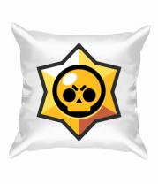 Подушка Brawl Stars minimal logo