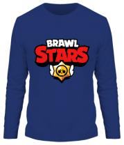 Мужская футболка с длинным рукавом Brawl Stars Logotype