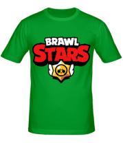 Мужская футболка  Brawl Stars Logotype