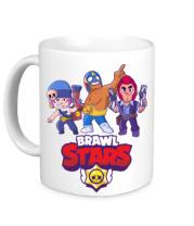 Кружка Brawl Stars Three Characters