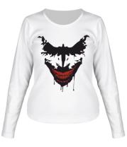Женская футболка с длинным рукавом Joker