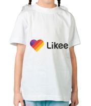Детская футболка  Likee logo