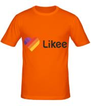 Мужская футболка  Likee logo