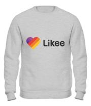Толстовка без капюшона Likee logo