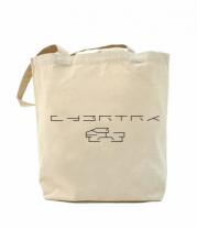 Сумка повседневная Cybertruck tesla logo