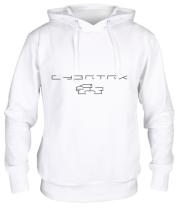 Толстовка Cybertruck tesla logo