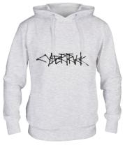 Толстовка худи Cybertruck tesla logo