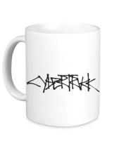 Кружка Cybertruck tesla logo