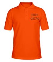 Мужская футболка поло BORN QAZAQ