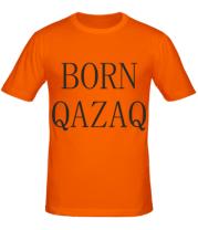 Мужская футболка  BORN QAZAQ