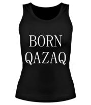 Женская майка борцовка BORN QAZAQ