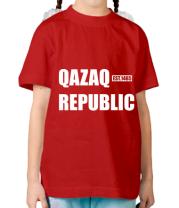 Детская футболка QAZAQ REPUBLIC