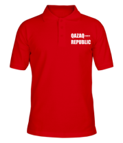 Мужская футболка поло QAZAQ REPUBLIC
