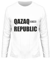 Мужская футболка длинный рукав QAZAQ REPUBLIC