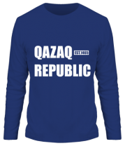 Мужская футболка с длинным рукавом QAZAQ REPUBLIC