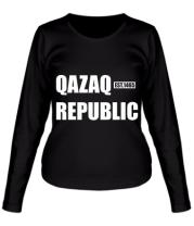 Женская футболка с длинным рукавом QAZAQ REPUBLIC
