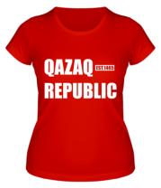 Женская футболка QAZAQ REPUBLIC
