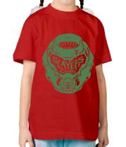 Детская футболка DOOM Slayer Club