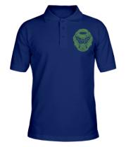 Мужская футболка поло DOOM Slayer Club