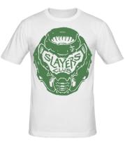 Мужская футболка  DOOM Slayer Club