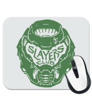 Коврик для мыши DOOM Slayer Club