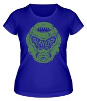 Женская футболка DOOM Slayer Club