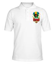 Мужская футболка поло Bs Leon and yellow ghosts