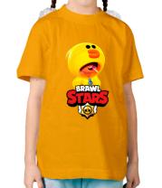 Детская футболка Leon hero and logo