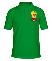 Футболка поло мужская Leon hero and logo