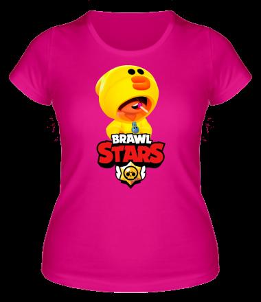 Женская футболка  Leon hero and logo
