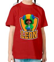 Детская футболка BS Leon emblem shield