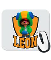 Коврик для мыши BS Leon emblem shield