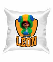 Подушка BS Leon emblem shield